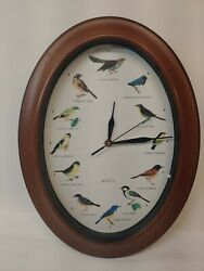 Song Birds of the World Singing Bird Clock Different Song Sound Every Hour G4