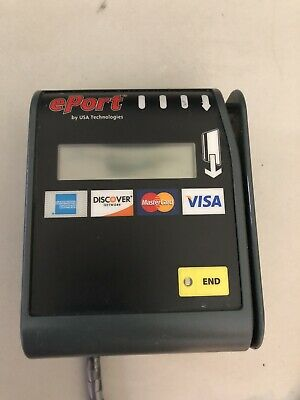 Usa Technologies Eport Edge Card Reader With Wireless Wifi Antenna Recever