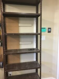 For Sale: Metal Garage Shelf