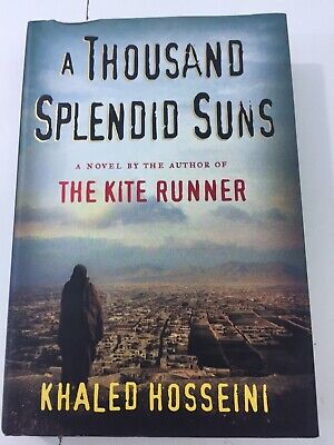 A Thousand Splendid Suns - Khaled Hosseini (2007, Hardcover, DJ)