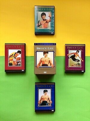 Lee Büste (The BRUCE LEE COLLECTION 4 x DVD Mediabook OVP Box SET 1 no BluRay neu o Büste 6)