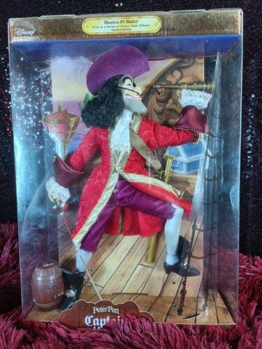 1999 Disney Peter Pan Captain Hook Doll NIB