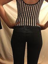 Bardot black denim jeans size 9 Morphettville Marion Area Preview