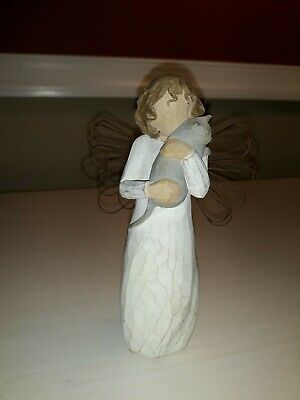 Willow Tree -With Affection- Angel Cat Figurine Susan Lordi 2003 Demdaco