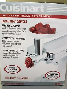 Cuisinart SM-MGC Meat Grinder Attachment for Cuisinart Stand Mix