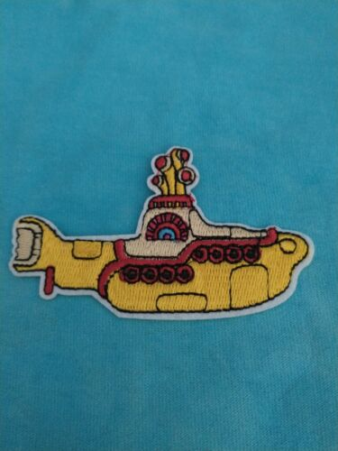 The Beatles Yellow Submarine 3.5 Inch Iron On Patch