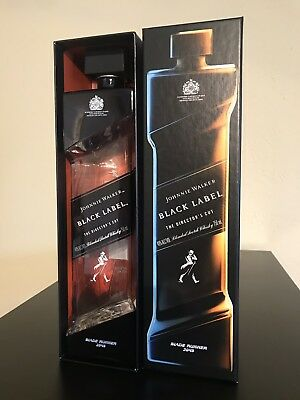 Johnnie Walker Black Label - Blade Runner 2049 - MINT CONDITION Bottle and Box