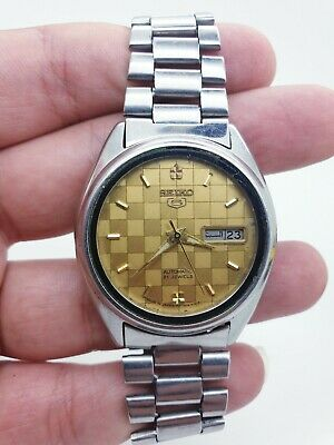 Seiko 5 Vintage Automatic Mens Watch.            21jewels 7009-3041 (640708)