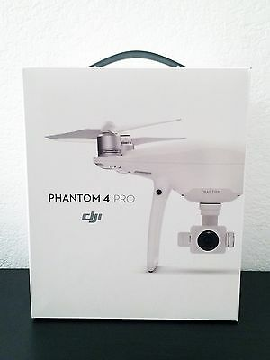 "NEW DJI PHANTOM 4 PRO DRONE w/ Gimbal Camera 1"" CMOS 4K/60fps 20MP Camera SEALED"
