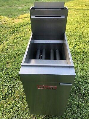 Vulcan Deep Fryer Model Lg400 Natural Gas Xtra Clean Xelent Condition