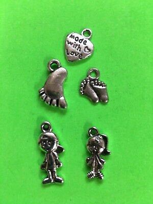 CHARMS childrens foot DIY fun gift idea stocking stuffer Christmas gift #A11 - Diy Christmas Gift Ideas