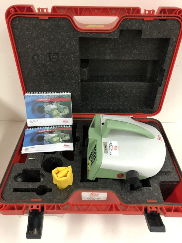 Leica DNA10 .09 mm Accuracy Automatic Precision Digital Auto Level Surveying