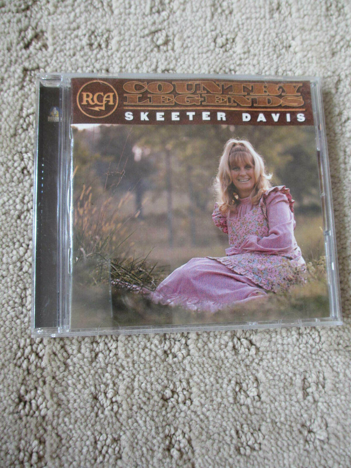 RCA Country Legends By Skeeter Davis CD, 2001, Bubbha Records Europe Import  - $4.99