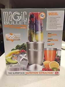 barely-used Nutribullet (tall/large 900mL cup) 900W 9-piece set Stanmore Marrickville Area Preview