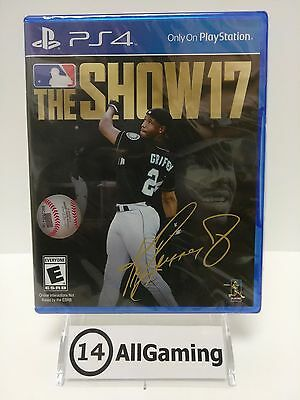 Brand New  Sealed Mlb  The Show 17   Ps4  Sony Playstation 4  2017