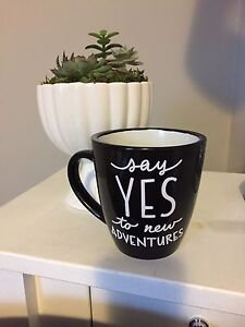 Say it with Vinyl! Mugs, Jars, Wine Glasses &a more!