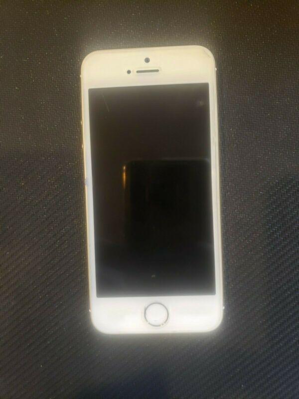 ATT iPhone 5s with Box, White - Working Fine