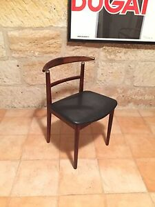 Vintage Danish Dining Chairs (x4) Hunters Hill Hunters Hill Area Preview