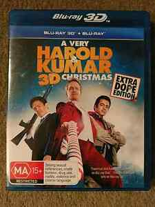 Harold and Kumar 3D Christmas Blu Ray St Kilda West Port Phillip Preview