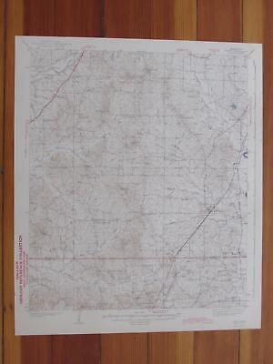 Terry Mississippi 1943 Original Vintage USGS Topo Map