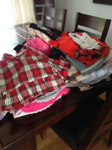 Mountain of 12-18 month clothes