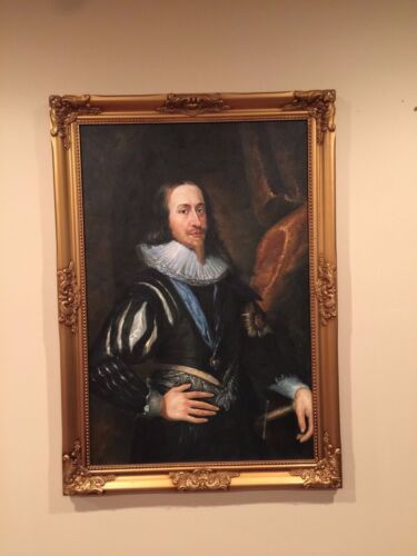 4. Charles I, King of England - Anthony van Dyck- reproduction framed