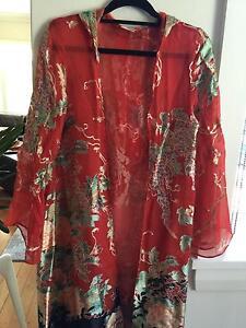 Camilla open front gown - 100% silk Newtown Inner Sydney Preview