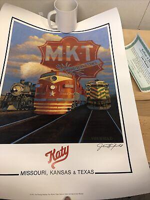 "Railroad Art, Winfield,""Katy"