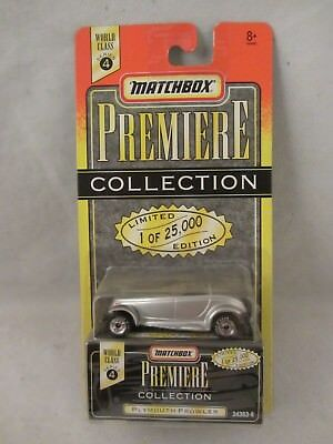 Matchbox , Premiere Collection  - Plymouth Prowler  Silver   (318MH)  34363-6