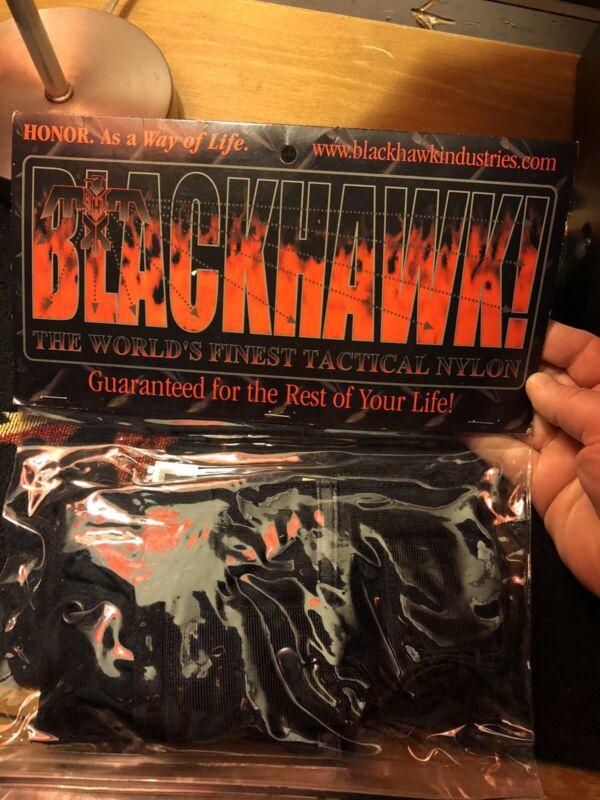 blackhawk Tactical Black Nylon radio pouch