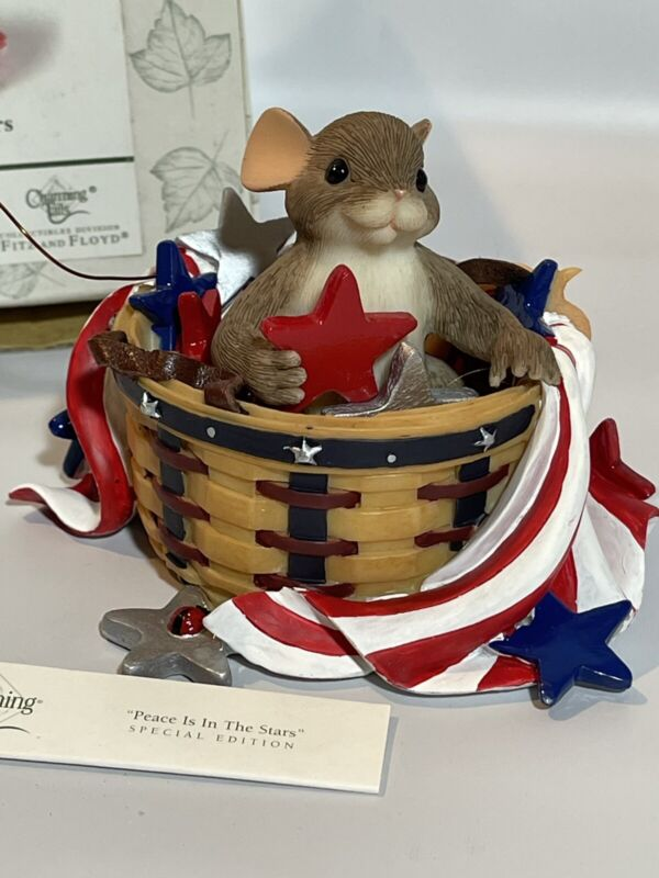 Charming Tails Edition Longaberger Basket Edition Peace In The Stars New In Box