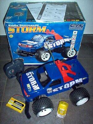 NIKKO RC - Storm 1:12 Monster Truck / 27Mhz - 9,6v - 20km/h - 100% RTR Vintage