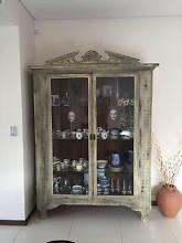 French Provincial/Avalon style display cabinet with lighting Benowa Gold Coast City Preview