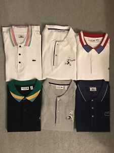 Lacoste Brand New and Slightly Worn Polos