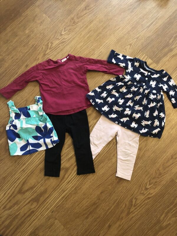 9 Month Baby Toddler Girls Lot Zara, Childrens Place, Carters