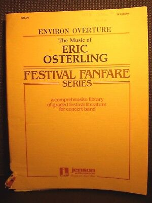 ENVIRON OVERTURE Graded Festival Literature For Concert Band ERIC OSTERLING