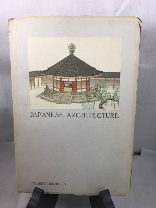1935 - JAPANESE ARCHITECTURE Tourist Library 7 OOP Japan SC RARE!