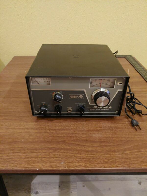 Vintage Drake Receiver SW-4A SW4A S/N 0660