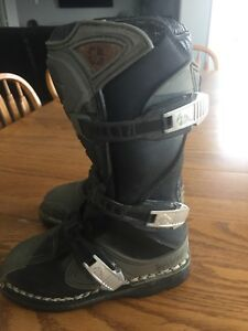 Kids size 13 motocross boots