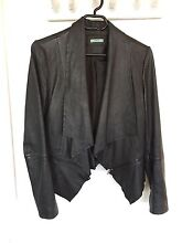 Ladies KOOKAI Leather Jacket Sz 38 (10-12) Springfield Lakes Ipswich City Preview