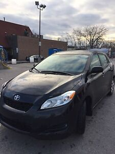 2011 Black Toyota Matrix  1.8L