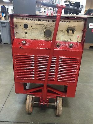 Miller Electric Cbi-400 400 Amp Stick Welder