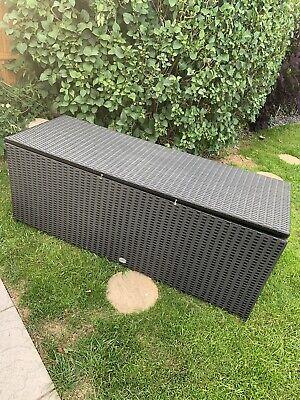 Rattan Storage Box Garden Patio
