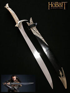 The Hobbit Sword of Thorin Oakenshield Movie Replica w/ Scabbard