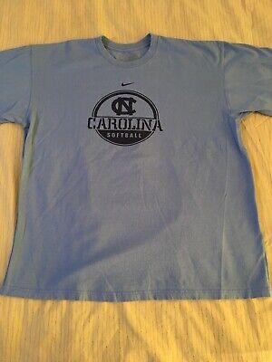 North Carolina Tar Heels Softball Nike Team T-Shirt•Large•Tar Heel Blue (Tar Heel Blue)