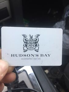 Hudson's Bay or Home Outfitters Gift Card
