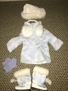 American Girl Doll Winter Coat and Accessories Set