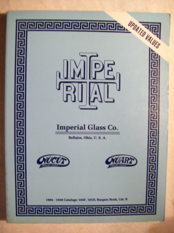 VINTAGE IMPERIAL GLASS PRICE GUIDE COLLECTOR