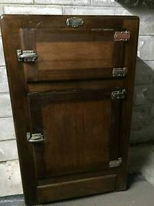 Antique Ice box chest Ashmore Gold Coast City Preview