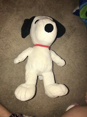 "Kohls Cares Peanuts Snoopy Stuffed Animal 2013 Kohl's Plush Doll Soft Toy 14"""